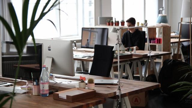 Focus houden kantoortuin